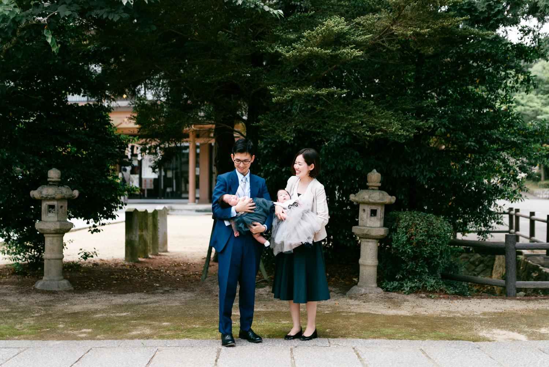 撮影記録:兵庫県加古川市でお宮参りとお食い初めの出張撮影 前編
